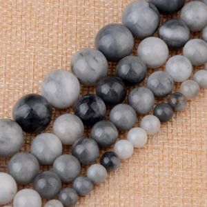 6mm to 12mm Natural Eagle Eye Agate Round Stone Beads for Jewelry Making