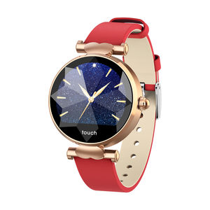 Hot sell Fashion touch screen and Colorful Display Waterproof Smart Watch for female