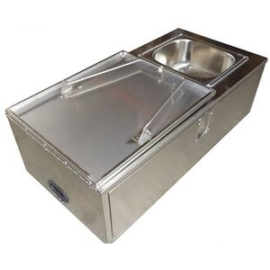 New hot selling SSK-1020-30 outdoor stainless steel multi-function camping trailer kitchen