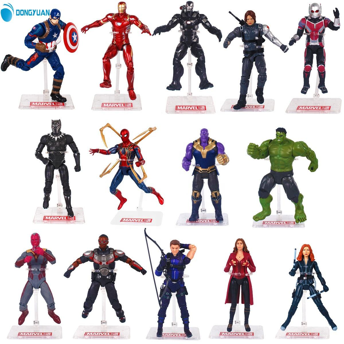 OEM custom pvc avengers3 action figure marvel legends 3D figure toys marvel action figure