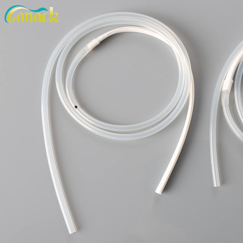 2019 hot sale disposable round fluted drainage tube with CE&ISO