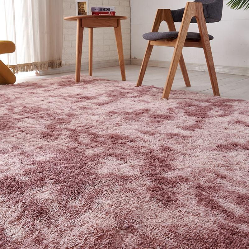 New Design Bedroom Anti slip Polyester Carpet and Rug