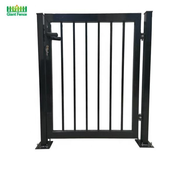 Hot sales house gates design garden gates steel iron fence gate