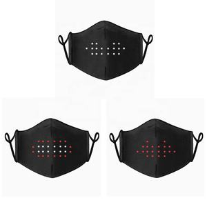 Glow Maskes Glow Mask New Luminous Rave Glow In Dark Imitate You Talk The Funny Sound Activated Light Up Face Maskes For Dance Festival Carnaval