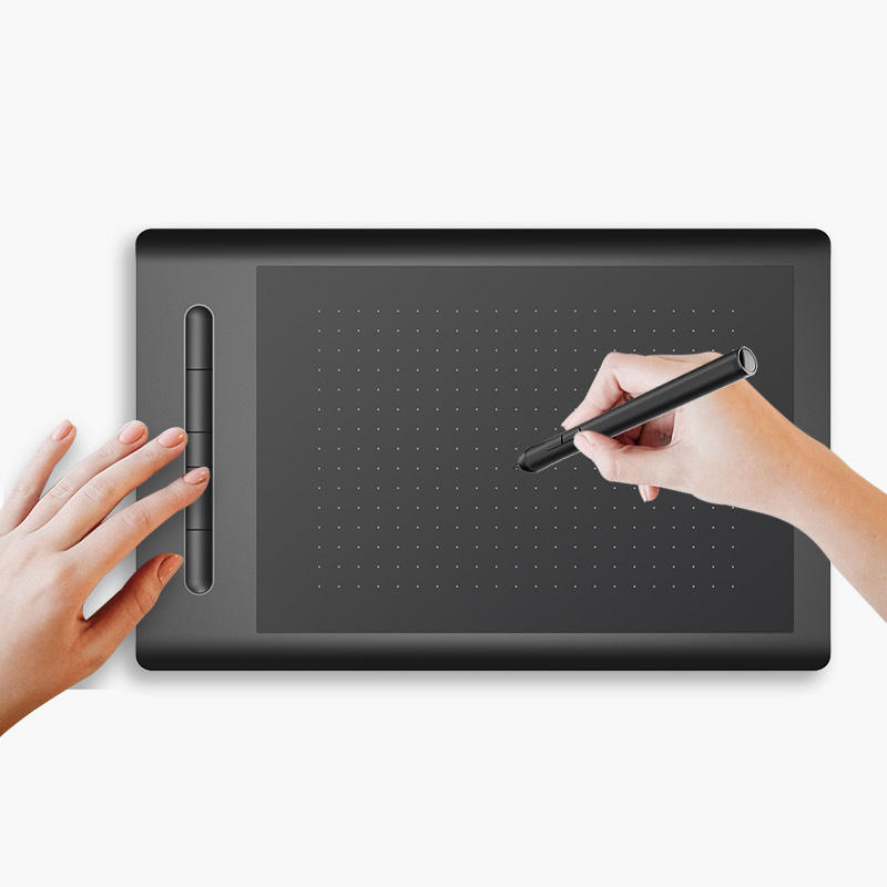 VSON WP9628 New 2.4G Bluetooth Electronic Components Pen drawing Graphic Tablet with factory price
