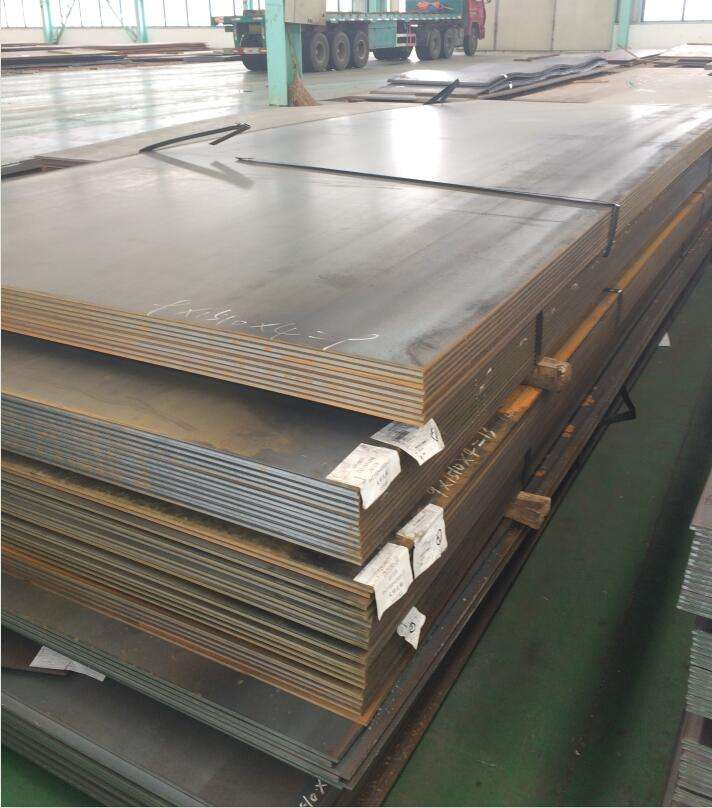 large stock hot rolled astm a285 gr c carbon steel plate