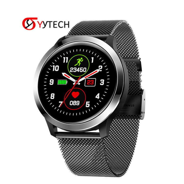 SYYTECH 2020 E70 Smart Watch ECG+PPG heart rate monitoring IP68 waterproof sports Calories pedometer Smart Bracelet phone