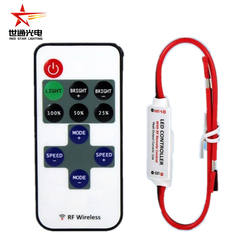 Rf11 key single controller RF single led string led strip  5