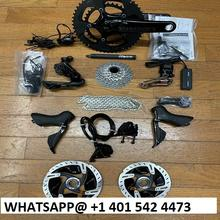 Bicycle 2019 Shimanos Dura Aces Di2 R9170 Hydraulic Disc Brake Groupset w/Di2 Junctions & Wires
