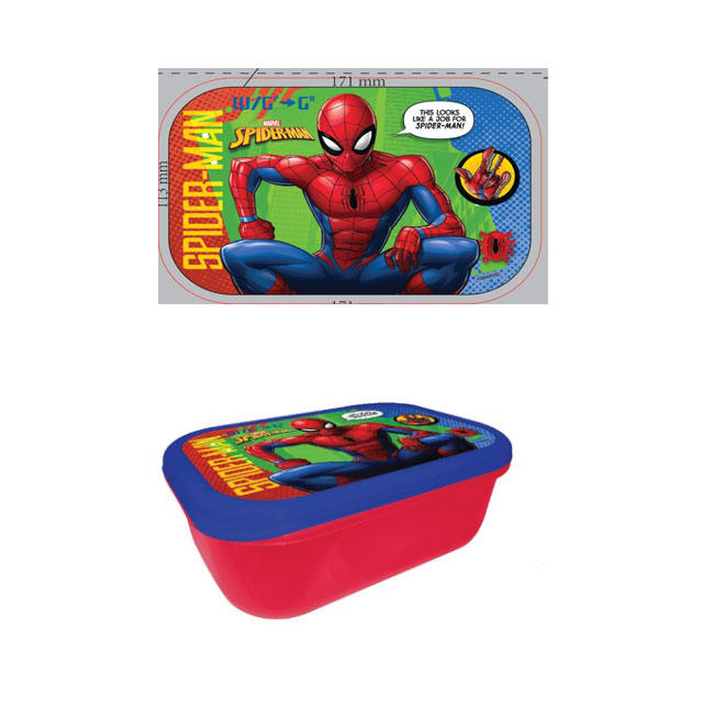 2020 new arrival free design lunch box in bangladesh bopp iml film for lunch box