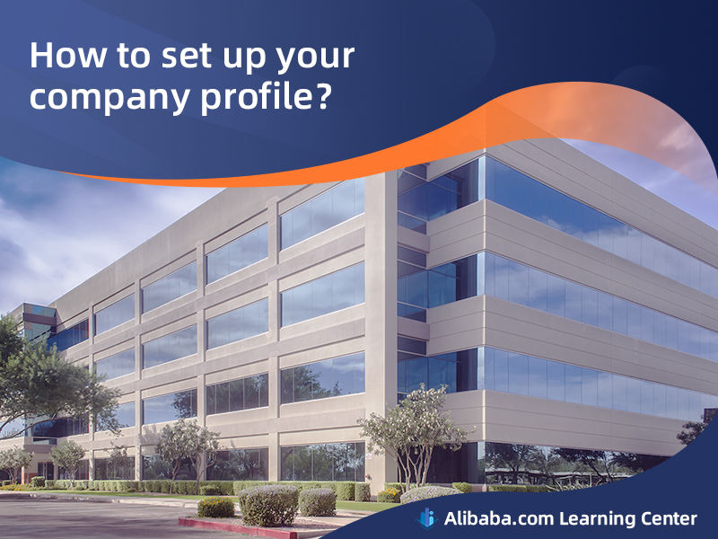 How to set up your company profile?