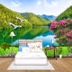 Custom 3D Photo Wallpaper HD Forest Mountain Lake Natural Landscape Large Wall Painting Living Room Background Mural Wallpaper