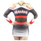Red grey black cheer dance costumes long sleeve cheerleading uniforms for adult and kids cheerleading apparel
