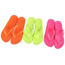 Manufacture factory jelly slipper shoes 2 strap beach women flip flop oem