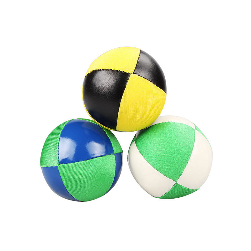 YuXing 2 Sets of Professional Contact Poi Juggling Balls with 3.4 Stage Ball and 19.3 Nylon Cord
