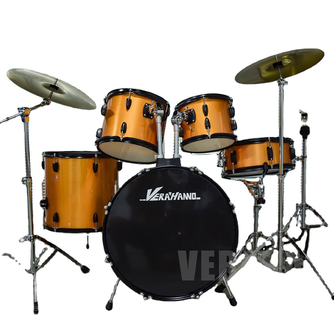 Chinese Factory Outlet Cheap Prices 5 Piece Musical Instrument Beginner Jazz Drum