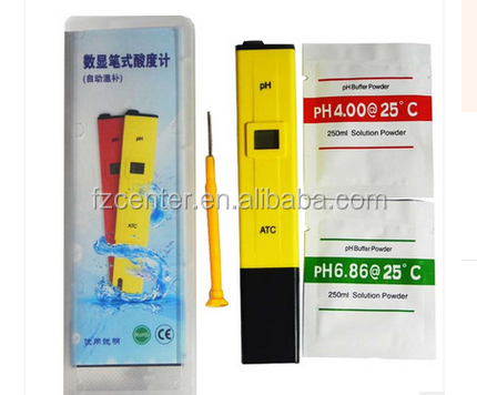 2016 new pen design portable pH meter with ATC