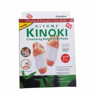 Amazon Hot Sale Ginger Detox Foot Patch/Ginger Foot Patch/ Foot Patch Kinoki