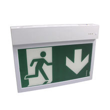 Hot Sell Emergency Exit Sign Light  Plastic Fire Control Exit Sign Emergency light
