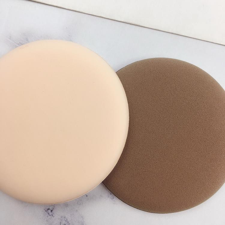 Wholesale Soft Round Shape NBR Foundation Cushion Makeup Cosmetic Powder Puff