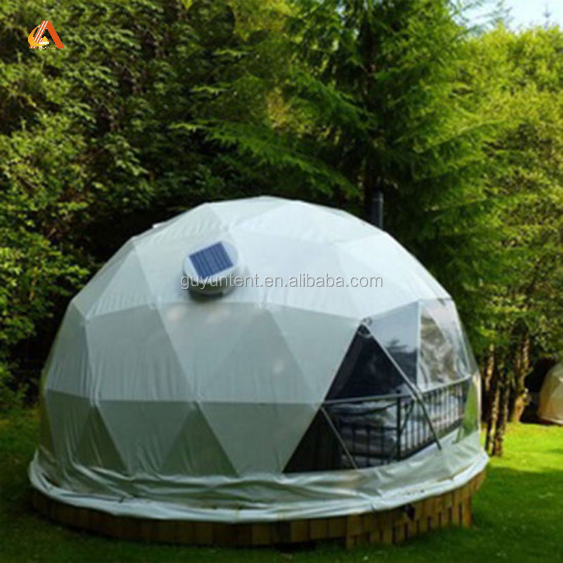 Glamping Big Dome Geodesic Tent Dome
