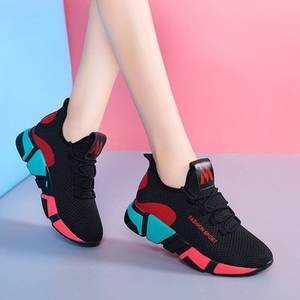 QT004 african ladies sneakers comfortable sport casual women running shoes