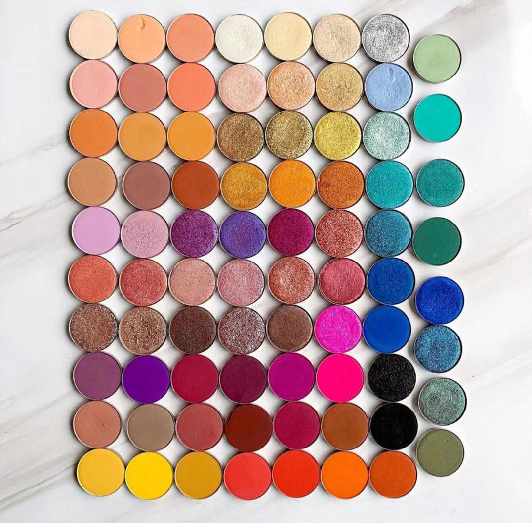 Best Selling Super Pigment Matte Shimmer Duochrome Eyeshadow Single in Stock with Fast Shipping