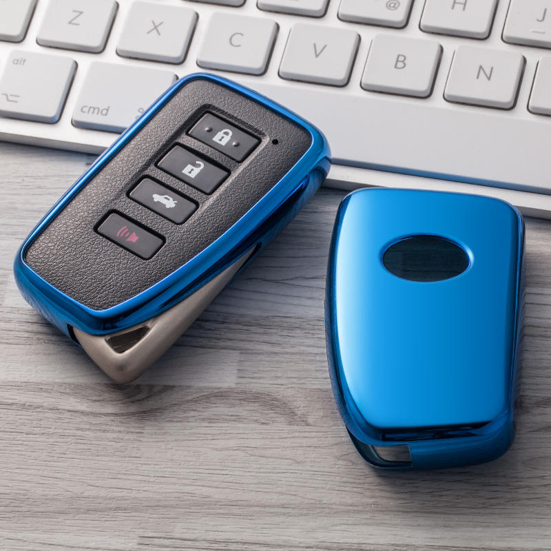 MUSUHA Auto Styling TPU Auto Key Fall Shell Für <span class=keywords><strong>Lexus</strong></span> NX GS RX IST ES GX LX RC 200 250 smart Remote Key Fall Shell