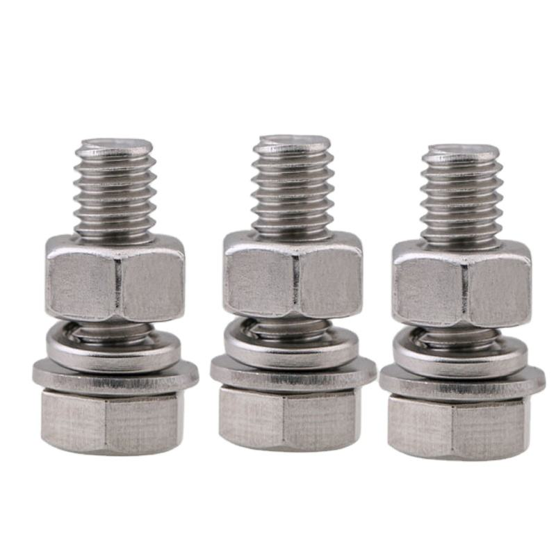 M8*45mm Stainless Steel SS304 A2 hex Bolt with Nut