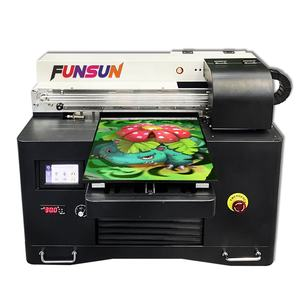 Funsun A3 Print Shop Machine Nieuwe A3 Model Pvc Foto Kaart Fles Puzzel Uv Flatbed Printer