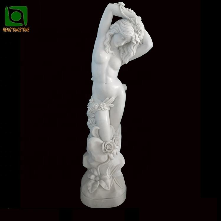 White Marble Stone Art Figure Carving