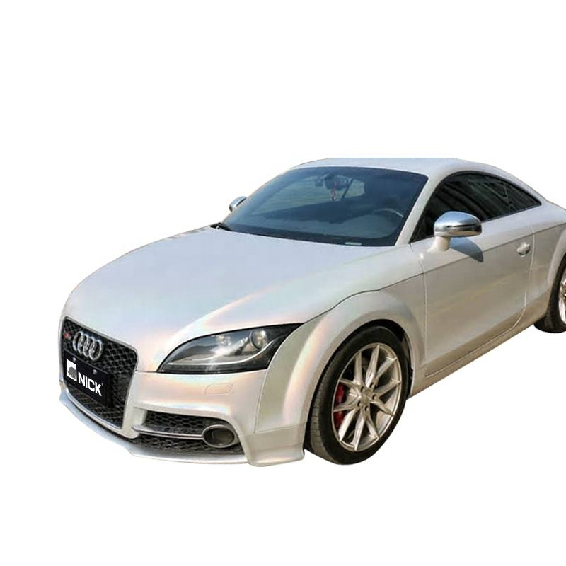 NICK GS-4401 White Iridescent Vinyl Changing Color Wrap Car Wrapping Car Vinyl Wrap
