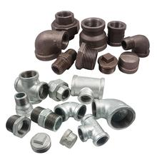 malleable iron pipe fitting thailand galvanized clamp pipe fittings black iron galvanized threaded malleable iron y fitting
