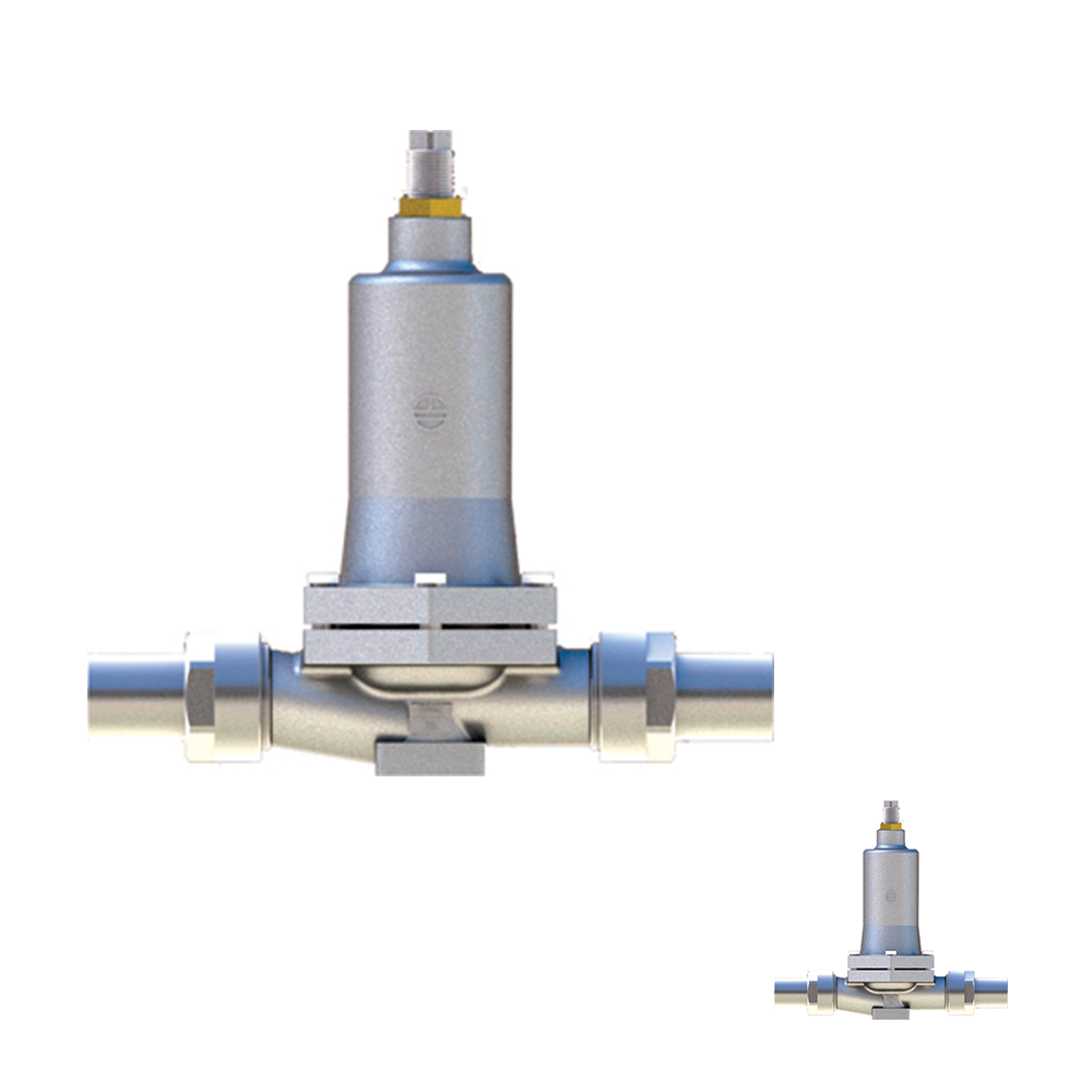 DY J-50 cryogenic Pressure reducing gas pressure regulators Provide OEM Services