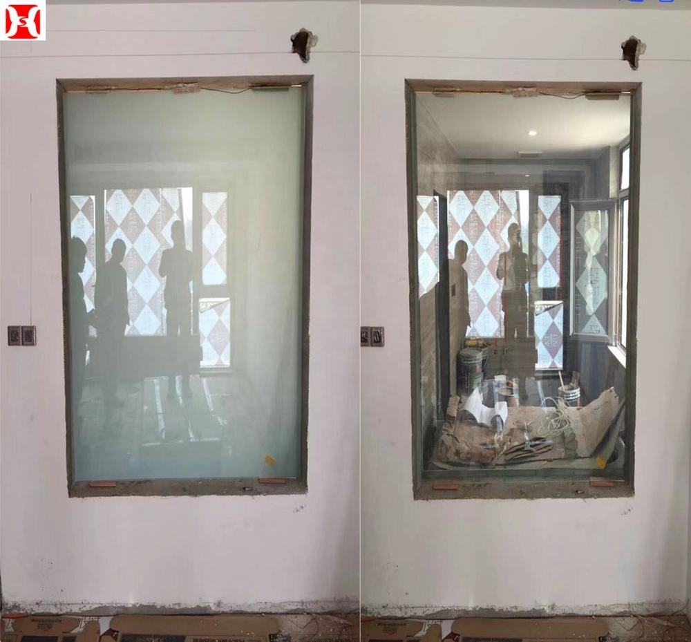 Best Saling Electrically Switchable Smart Glass PDLC Film Tempered Glass Curtain Wall Price