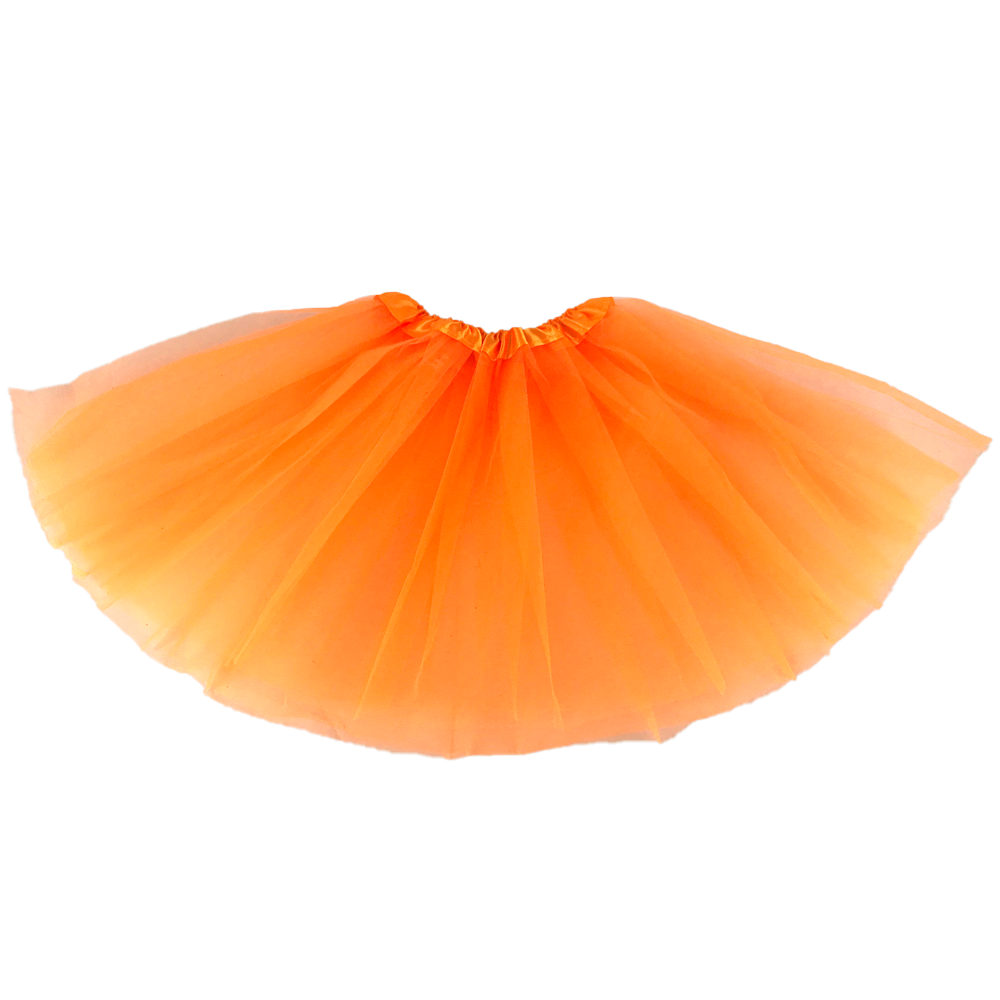 Tutu Skirt In Neon Colors Ballet Tutu Dress Carnival And Festival Gift With 2 Layer And Elastic On The Waist