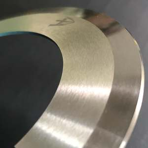 Industrial top and bottom disc paper slitting knife