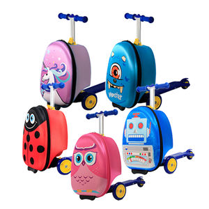 3 roues enfants scooter bagages valise voyage