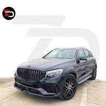 New Arrived Wad Style Body Kit With Front Bumpers Rear Bumper For Mercedes GLC Class X235 GLC 300 260 200