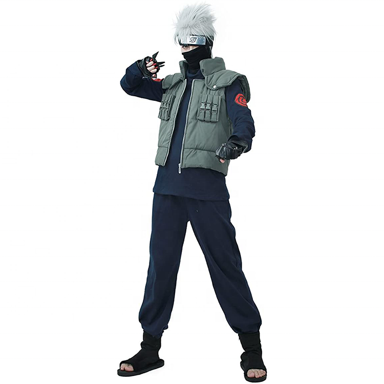 Naruto Hatake Kakashi Halloween Cosplay Costume Full Halloween costume
