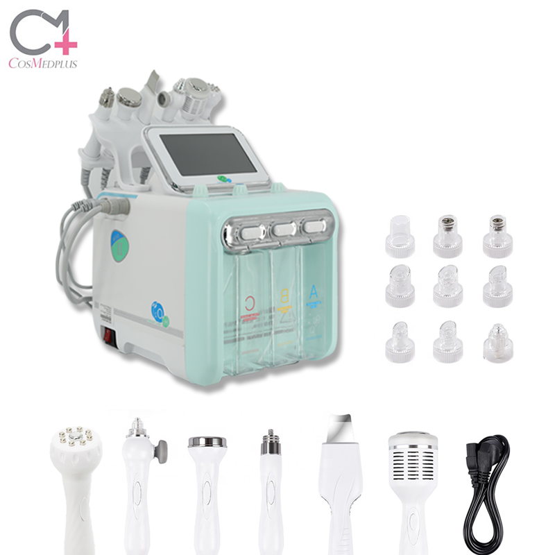 Excellent Material cold hammer-skin improve ultrasonic skin whitening deep oxygen cleansing facial machine