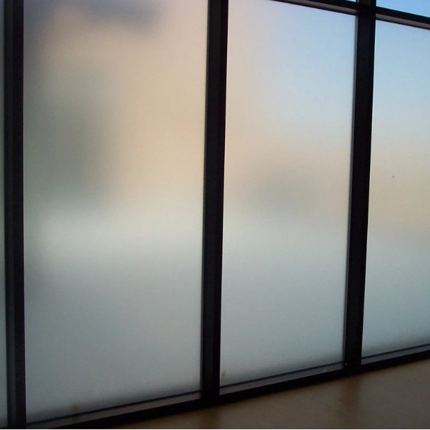 PDLC smart glass film high technology pravicy security smart switchable frosted glass