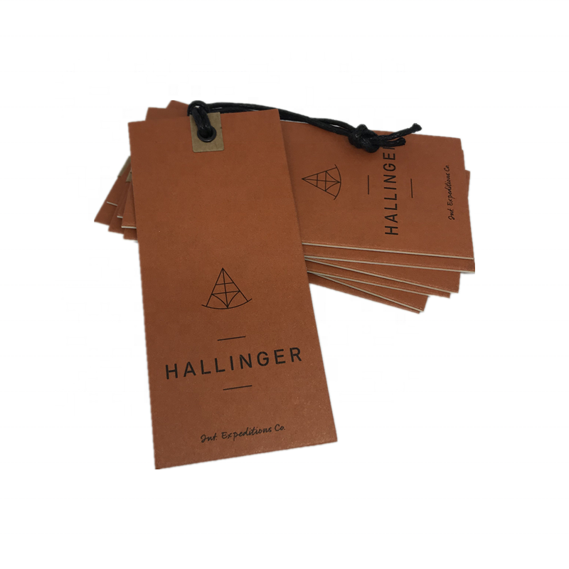 Custom Brand Hang Clothing Tags Special SwingTags Label Hang TagGarment Hangtag with String