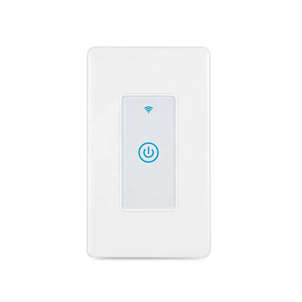120*70mm US Smart Light Switch Wifi Smart Wall Switch Wifi Home Automation