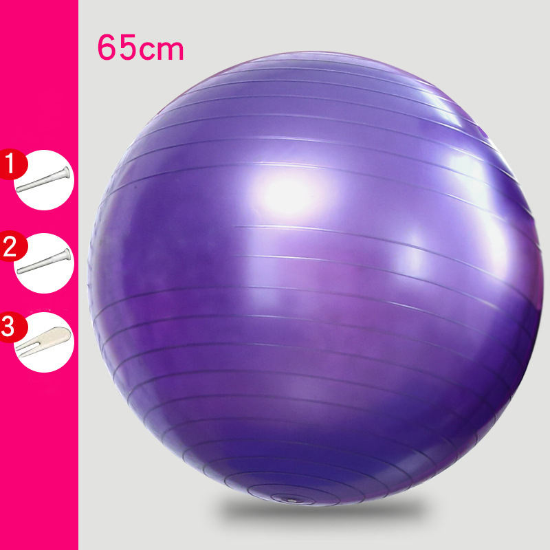 Sports Yoga Balls Pilates Fitness Gym Balance Exercise Pilates Workout Massage Ball 55cm 65cm 75cm