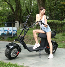 Lingte X60P City Scooter 60V20A 1000W 1500W 2000W Powerful Electric Motorcycle Scooter Adult Citycoco Big wheel Electric Scooter