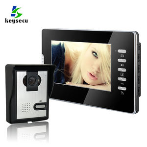 Keysecu 7inch Full Color LCD Screen Video Door Interphone System