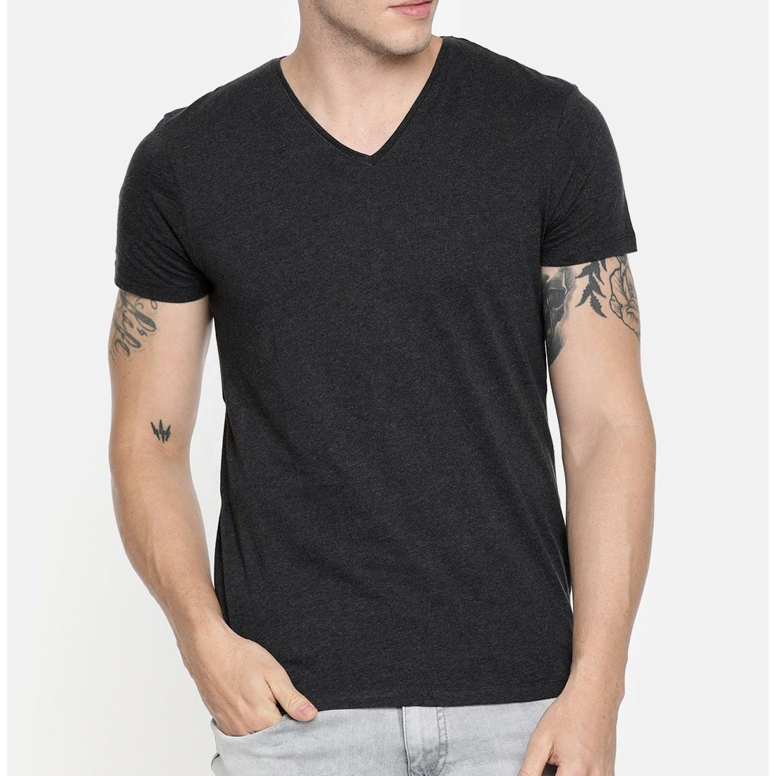 v neck t shirts men made in pakistan