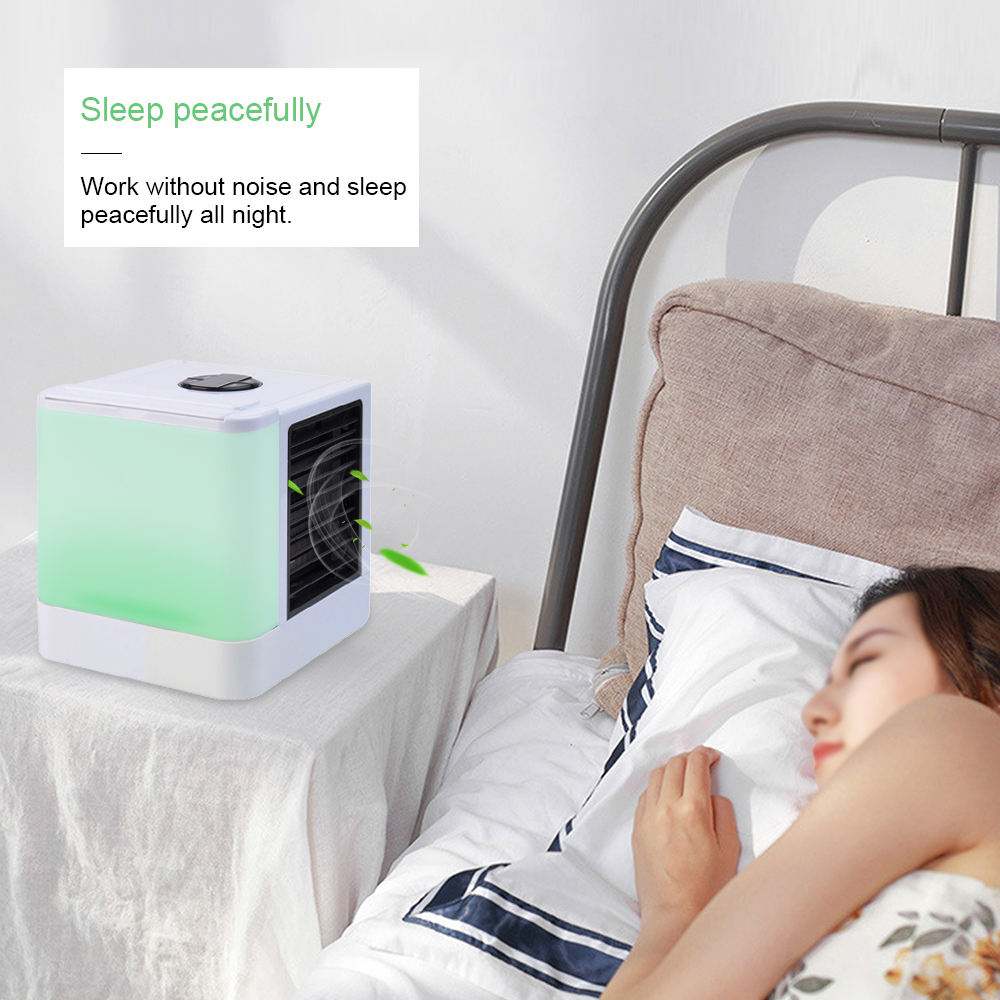 Outdoor [ Air Conditioner ] Portable Mini Air Conditioner Fan Personal Space Air Cooler The Quick Easy Way To Cool For Home