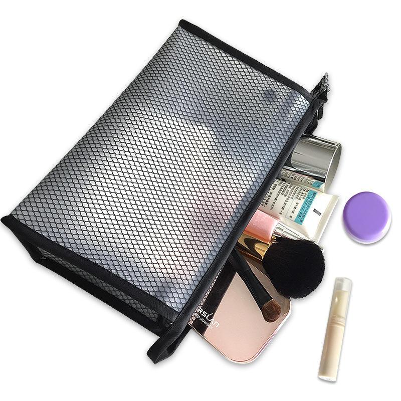 Claire légère eva maille cosmétique maquillage sac pour femmes et hommes